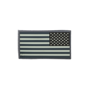 Maxpedition Morale Patch Reverse USA Flag Patch Small - WarriorInc Tactical Gear