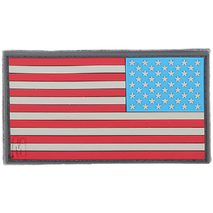 Maxpedition Morale Patch Reverse USA Flag Patch Large - WarriorInc Tactical Gear