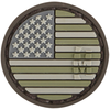 Maxpedition Morale Patch USA Flag Micropatch 0.98  x 0.98  (Arid) - WarriorInc Tactical Gear
