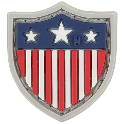 Maxpedition Morale Patch USA Shield Micropatch 0.8  x 0.9  (Full Color) - WarriorInc Tactical Gear