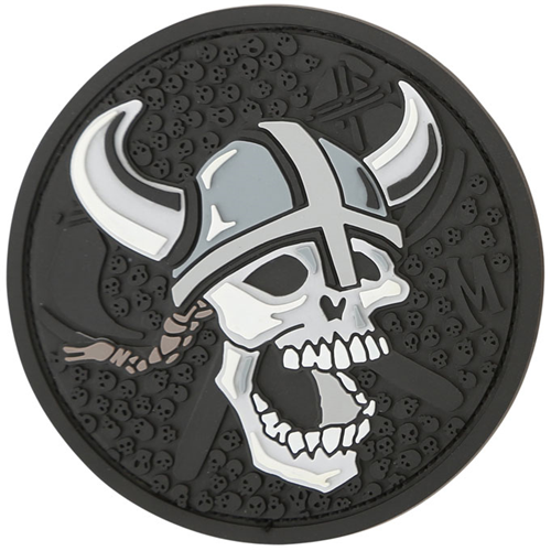 Maxpedition Morale Patch Viking Skull (SWAT) - WarriorInc Tactical Gear