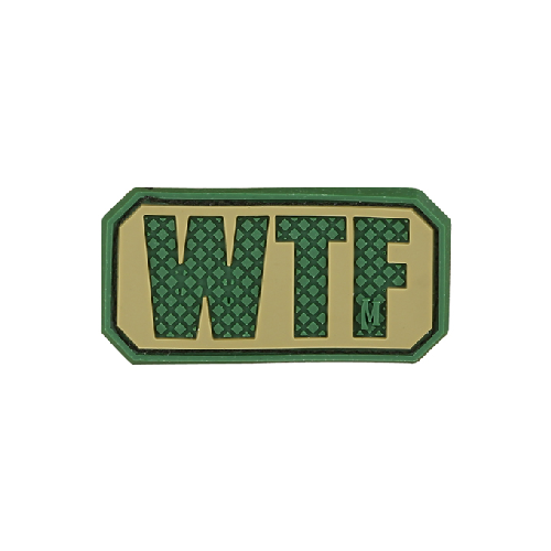 Maxpedition Morale Patch WTF Patch - WarriorInc Tactical Gear