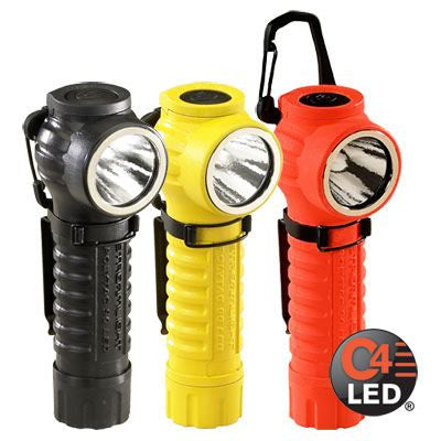 Streamlight PolyTac 90 Wearable Fire Fighting Flashlight with Free Gear Keeper - WarriorInc Tactical Gear