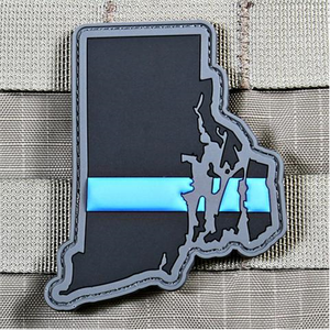 "Violent Little Machine Shop ""Every State In Thin Blue Line"" Patch Series - WarriorInc Tactical Gear"