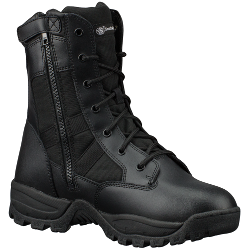 Smith & Wesson Breach 2.0 SideZip Waterproof 9 Inch Tactical Boots - WarriorInc Tactical Gear