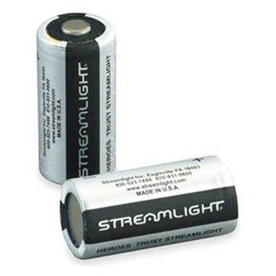 Streamlight 3V Lithium CR123A Batteries 400 Pack - WarriorInc Tactical Gear