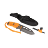 "5ive Star Gear T2XL Fixed Blade Survival Knife Orange  Paracord 8.5"" - WarriorInc Tactical Gear"