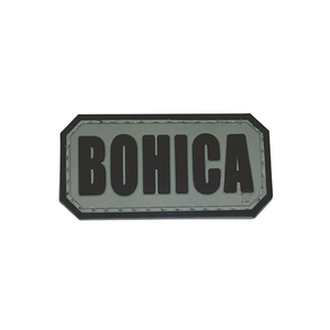 5ive Star Gear PVC Morale Patch BOHICA - WarriorInc Tactical Gear