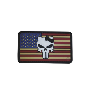 5ive Star Gear PVC Morale Patch Vintage Flag Kitty - WarriorInc Tactical Gear