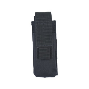 Voodoo Tactical Single Pistol Mag Pouch - Black - WarriorInc Tactical Gear