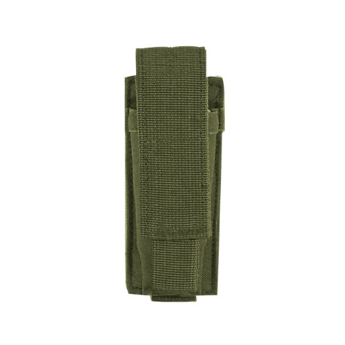 Voodoo Tactical Single Pistol Mag Pouch - OD Green - WarriorInc Tactical Gear