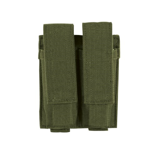 Voodoo Tactical Double Pistol Mag Pouch - OD Green - WarriorInc Tactical Gear