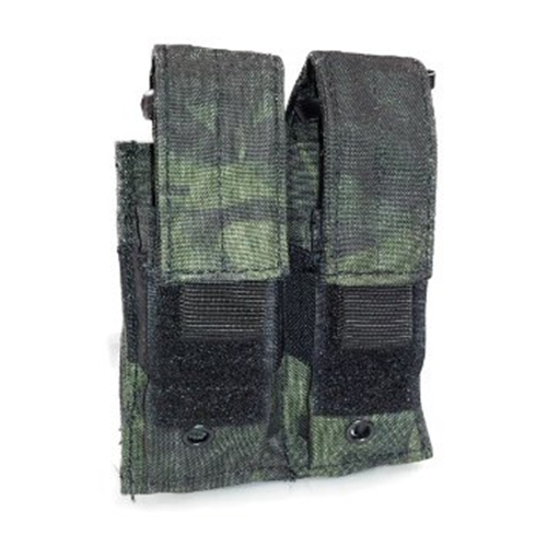 Voodoo Tactical Double Pistol Mag Pouch - Black MultiCam - WarriorInc Tactical Gear