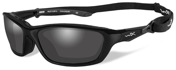 Wiley X Brick 856 Metallic Black Frame / LA Light Adjusting Lens - WarriorInc Tactical Gear