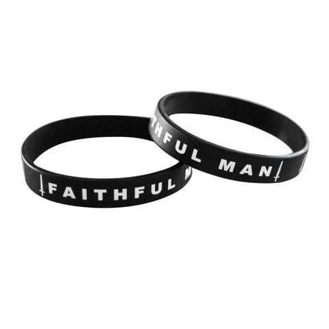 Faithful Man Wristband (10 Pack)