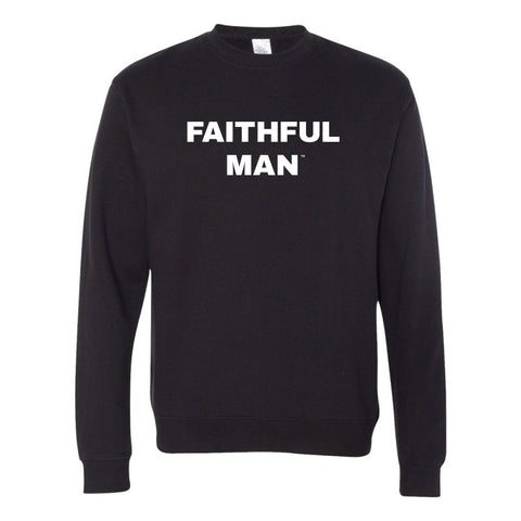 Faithful Man Midweight Pullover Sweatshirt