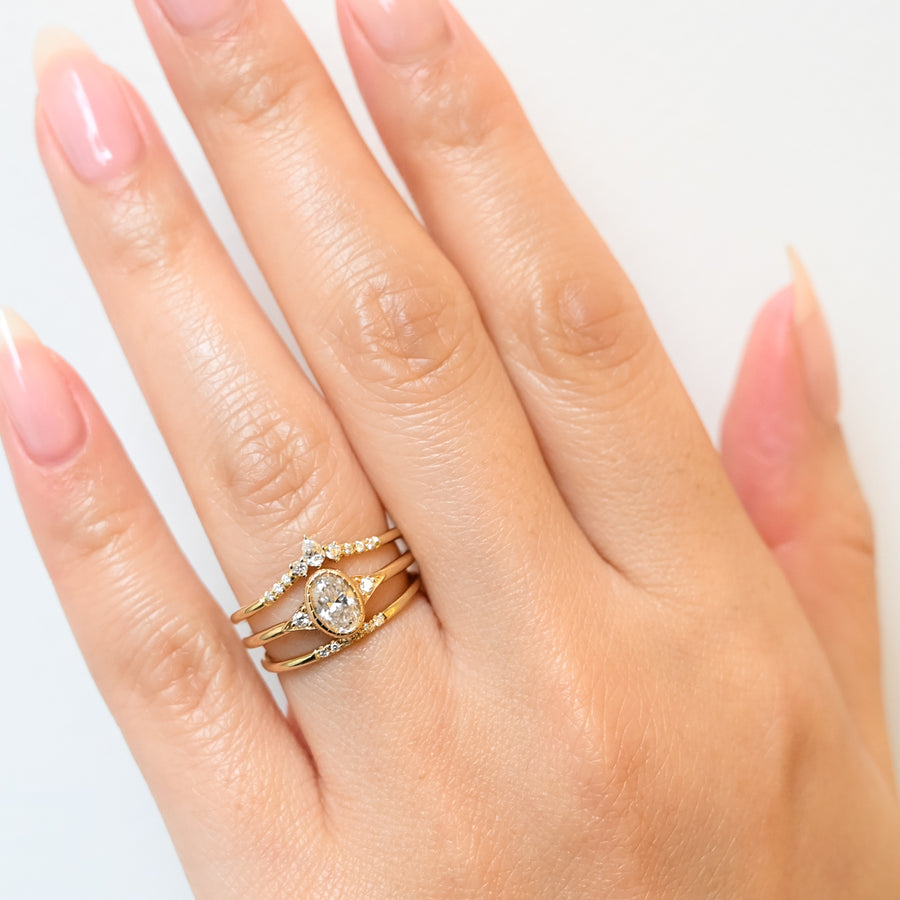 Semi Pavé Ring
