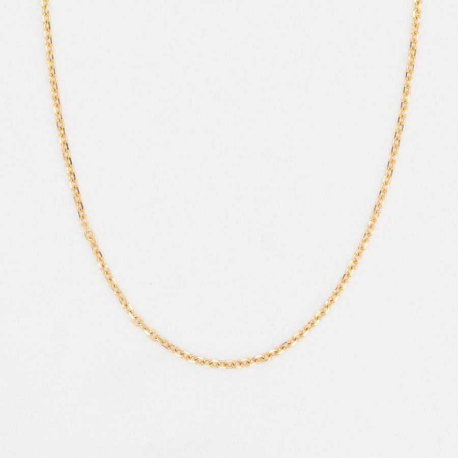 Medium Diamond-Cut Cable Chain