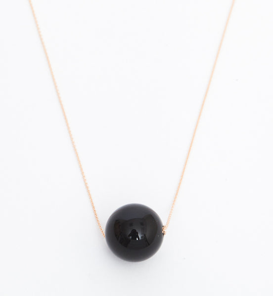 Black Moon Onyx Necklace