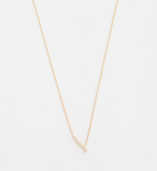 Tira Diamond Necklace