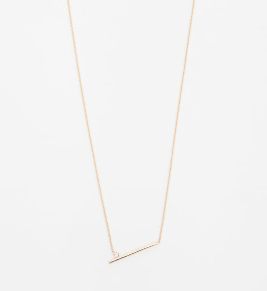 Livi Gold and Diamond Necklace