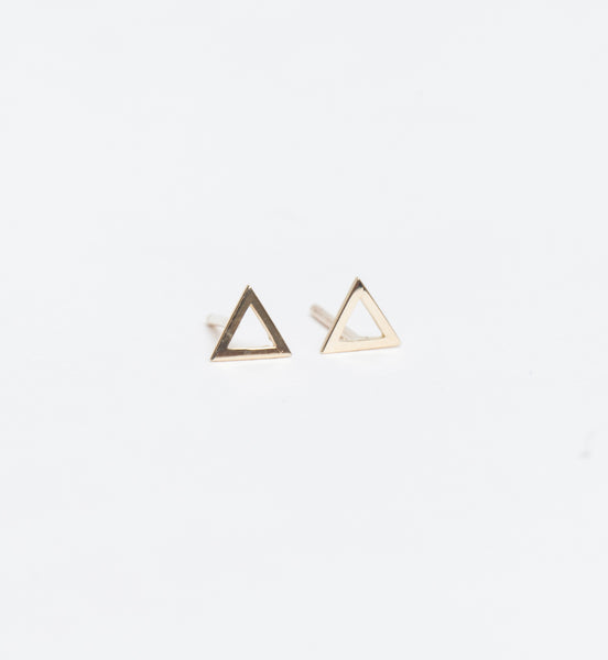 Tati Triangle Studs