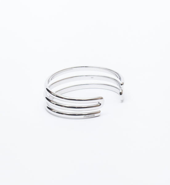 Sterling Silver Expo Cuff