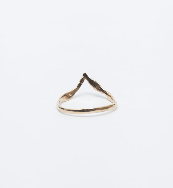 Lava Beak Diamond Ring