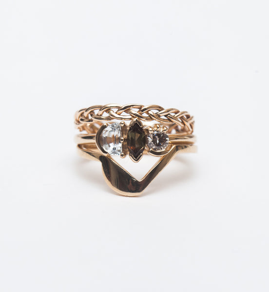 Lash Triad Cluster Ring