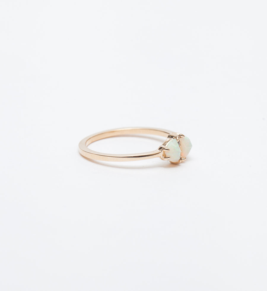 Meridian Opal & Diamond Ring