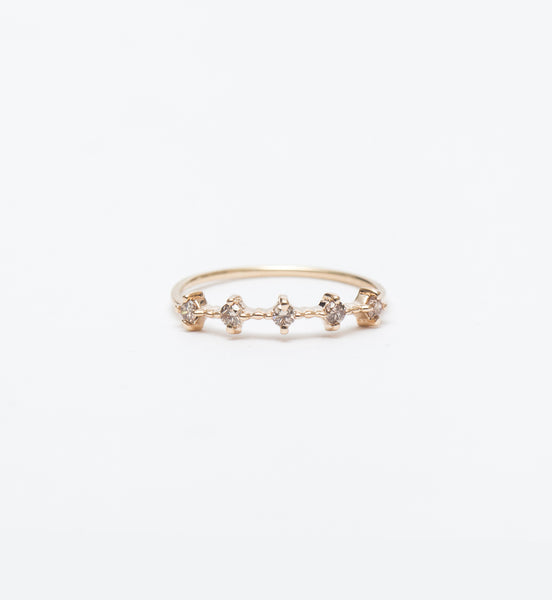 Celeste Champagne Diamond Ring