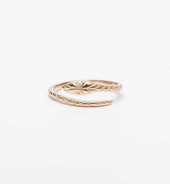 Kaa Serpent Ring