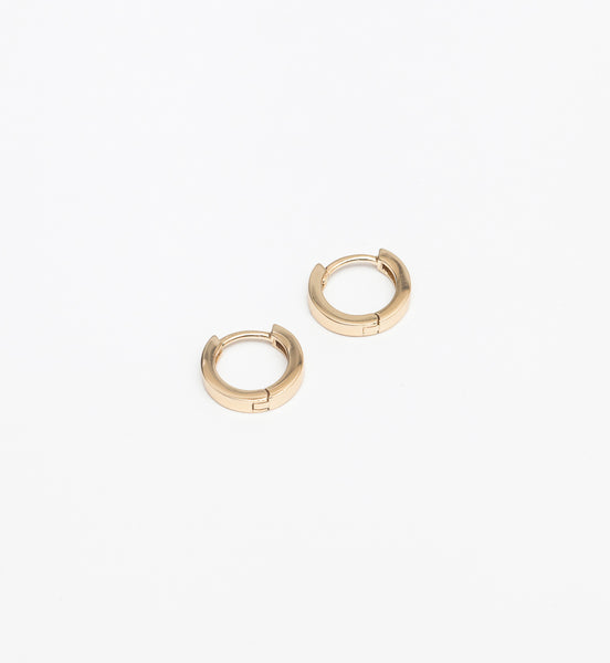 Gold Vermeil Tiny Hugger Hoops
