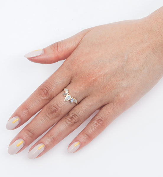 Palm Paradise Ring