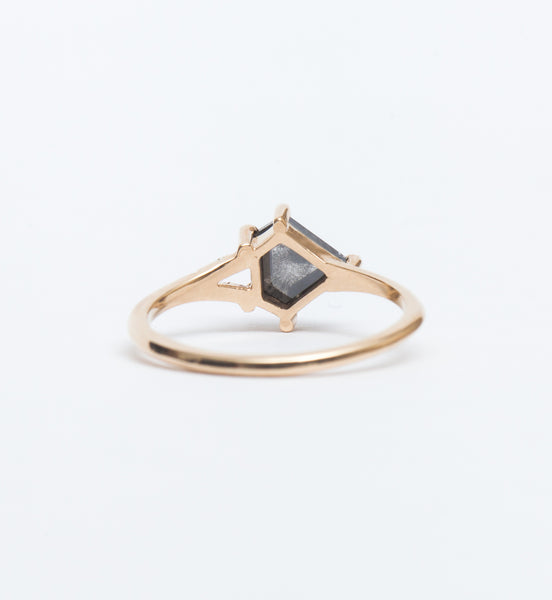 Zara Shield Diamond Ring