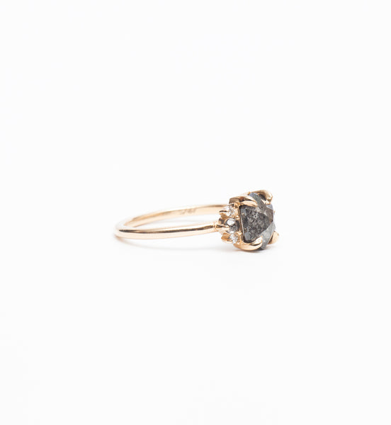 Hexagon Rose-Cut Charlotte Ring