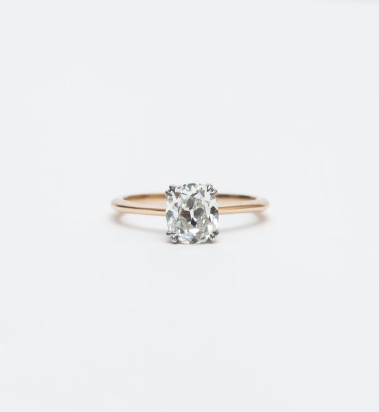 One-of-a-Kind Old Mine Hazeline Solitaire