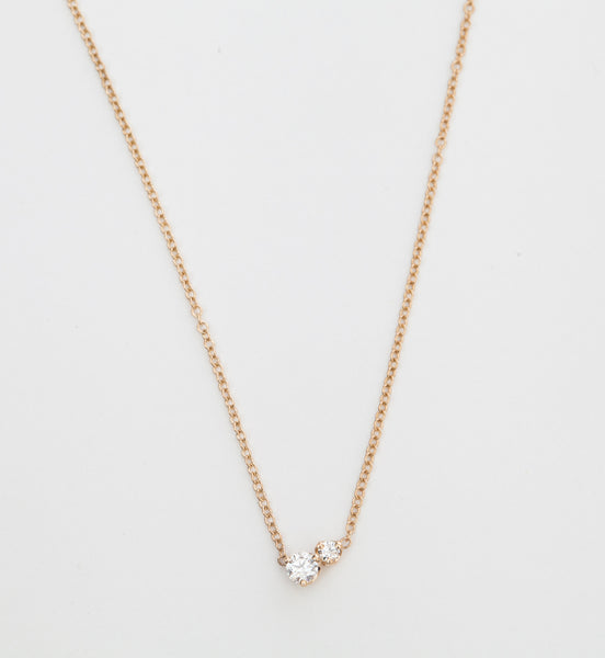 Mixed Diamond Necklace