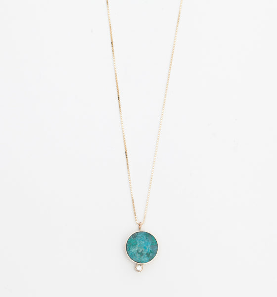 Chrysocolla Solis Necklace