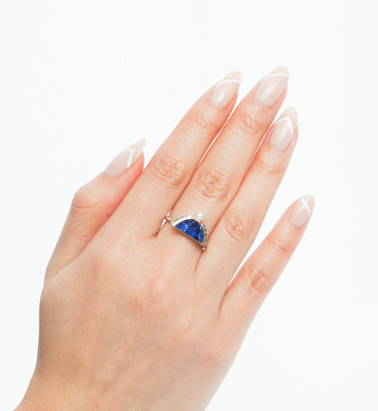 Azurite Rising Sol Ring
