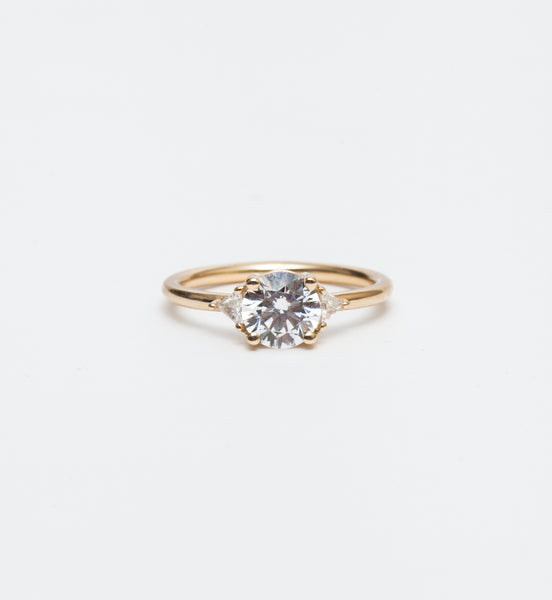 Jillian Round Brilliant Ring