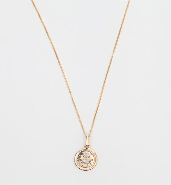 Round Love Token Necklace