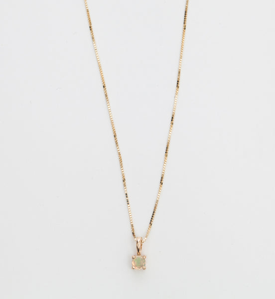 Opal Element Necklace
