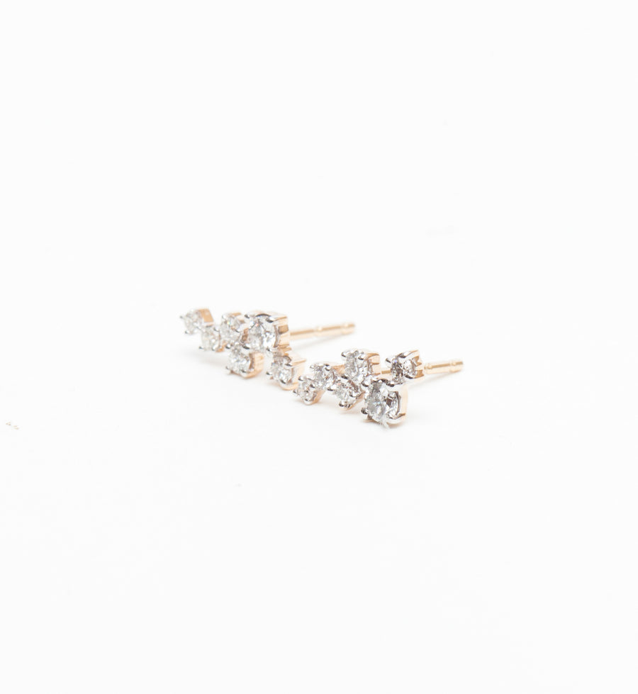 Scattered Diamond Studs
