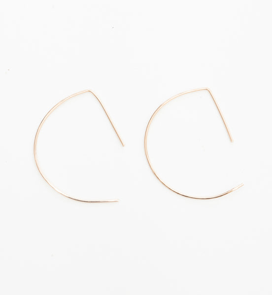 Small D Earrings