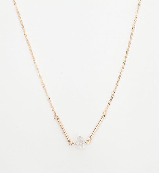 Cobar Herkimer Diamond Necklace