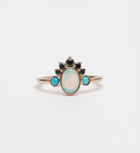 Gypset Opal Headdress Ring