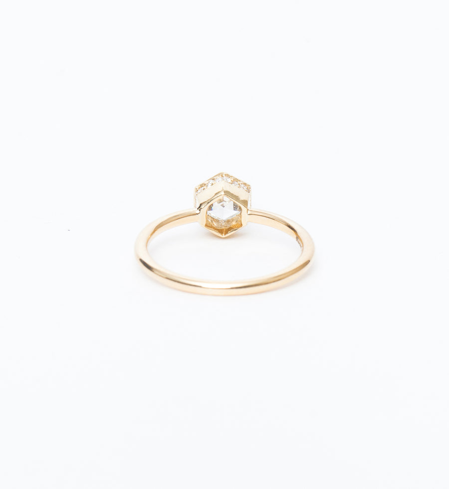 Hexagon Secret Garden Ring