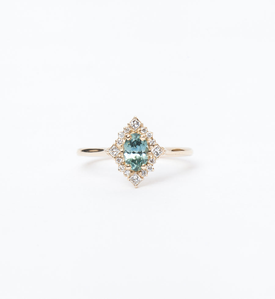 Montana Sapphire Mirabelle Ring