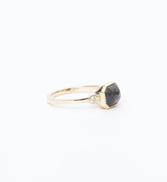 Exclusive Grey Diamond Lexie Ring